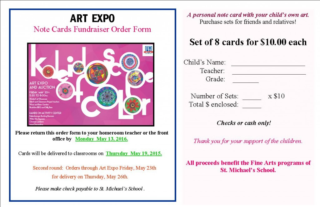 Art Expo Card Oder Form 2016